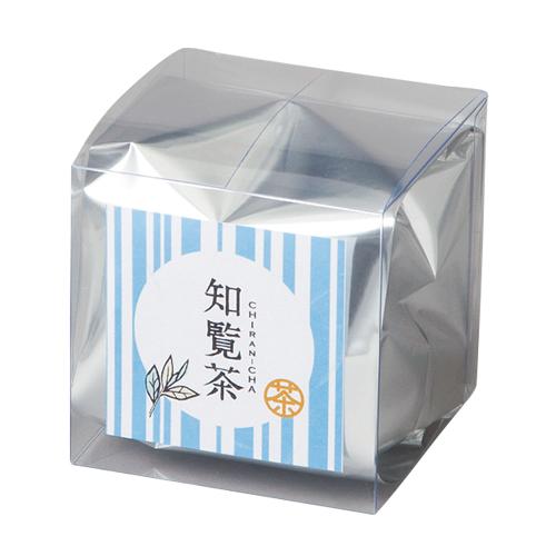 お茶 透明ボックス